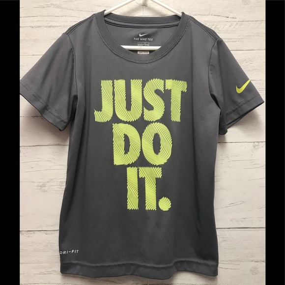 a1d00d895 Nike Shirts & Tops | Boys Dri Fit T Shirt Just Do It Size Large ...